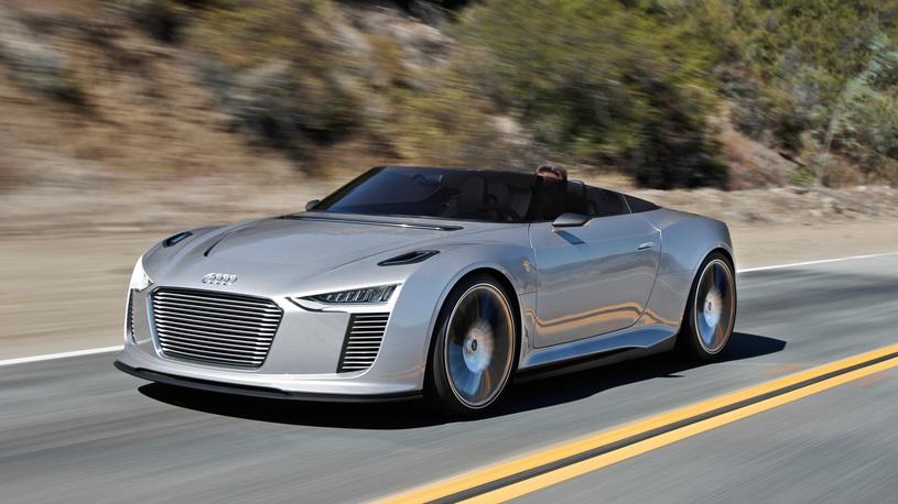 Audi готовится к постройке электрического суперкара