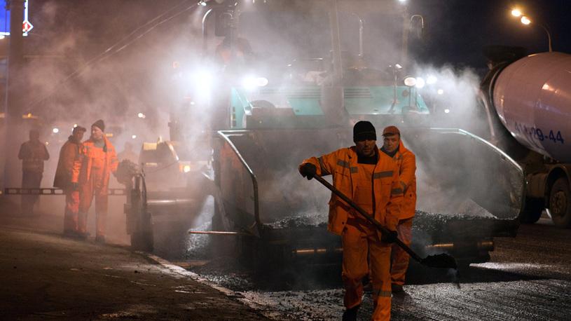 В России дорогу отремонтировали контрабандисты
