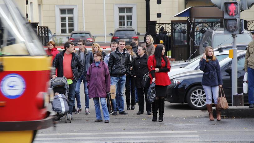 В России увеличат штраф за непропущенных пешеходов