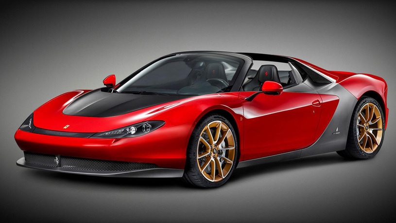 Суперкар Ferrari Sergio подорожал до баснословной суммы
