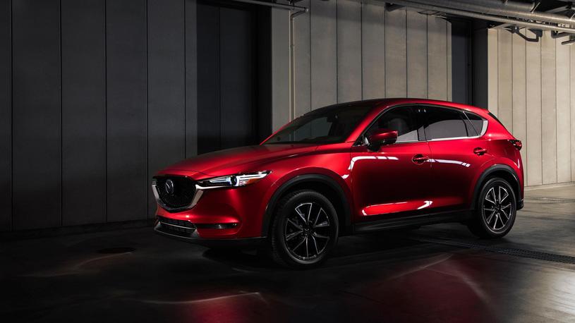 Новое поколение Mazda CX-5 получит 7-местную версию