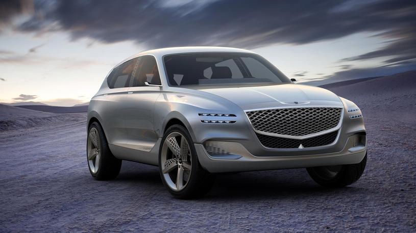 Премиальный бренд Genesis запланировал сразу четыре купе и три внедорожника