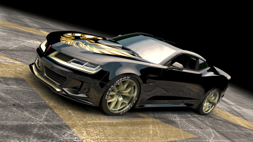 Сделана очередная попытка возродить культовый масл-кар Pontiac Trans Am