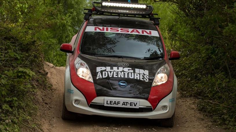 Электрический Nissan отправится в грандиозное ралли через Монголию