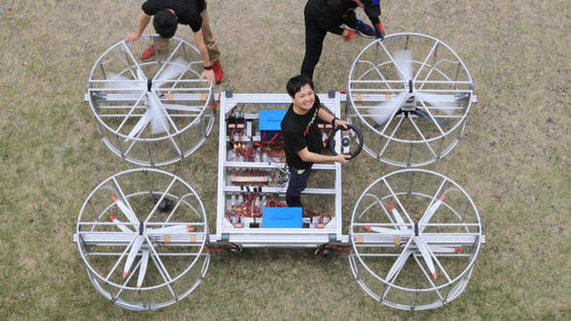 Летающий автомобиль Toyota поднимется в воздух через 3 года