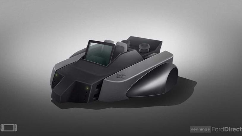 Дилер Ford в Англии создает машины на базе игровых консолей