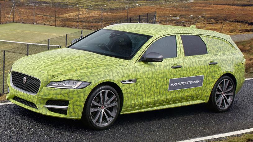 Новый универсал Jaguar XF дебютирует через месяц