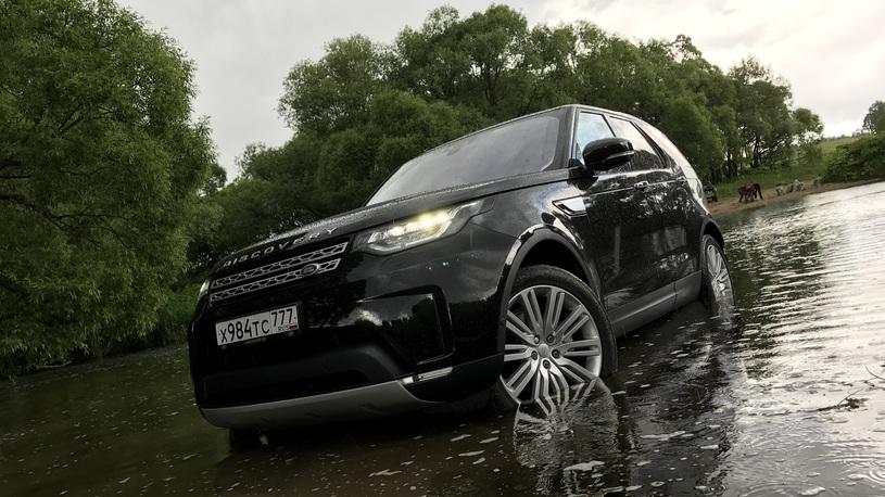 Тест-драйв Land Rover Discovery V: внедорожник и без рамы?!