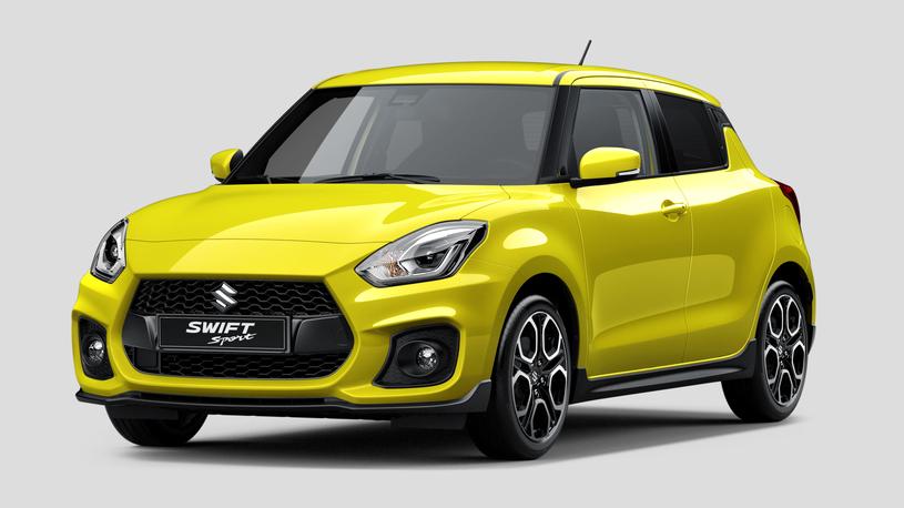 В Suzuki раскрыли внешность хэтча Swift Sport