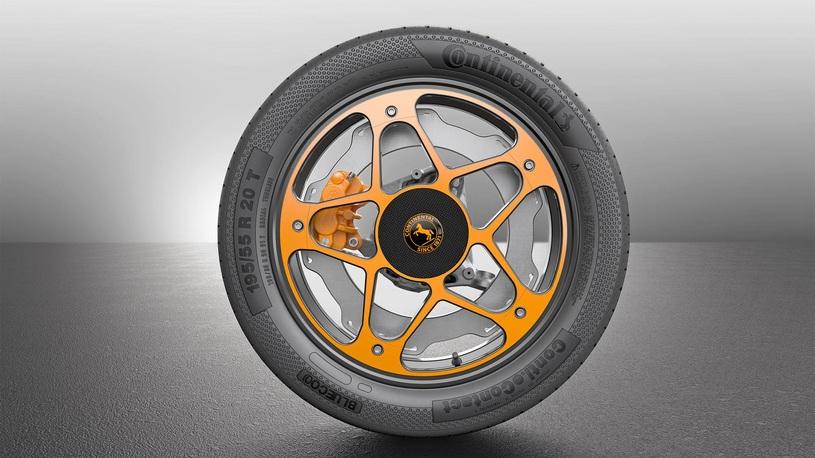 Continental придумала объединить колесо и тормозной диск