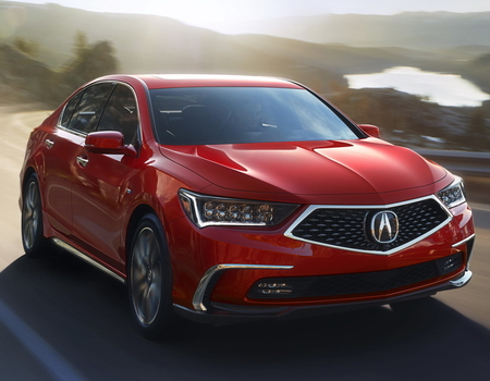Acura обновила седан-флагман
