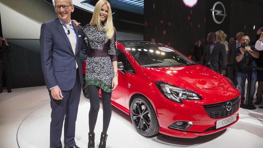 Новый Opel Corsa появится в России в первой половине 2015 года