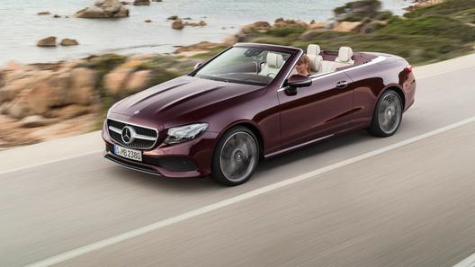 В Россию привезут новый кабриолет от Mercedes-Benz