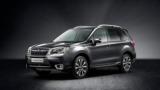 В России начались продажи новой версии Subaru Forester