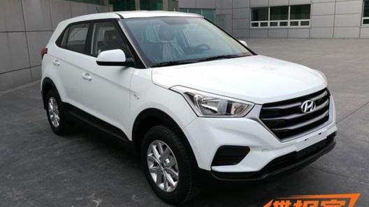 Рестайлинг Hyundai Creta: первые фото