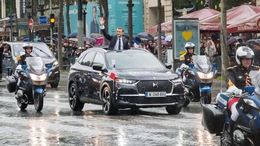 Кроссовер DS стал официальным автомобилем президента Франции