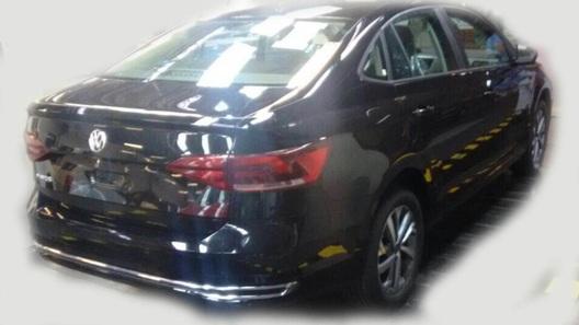 Абсолютно новый седан VW Polo: первые фото