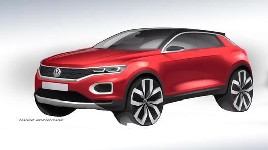Volkswagen показал новое фото доступного кроссовера