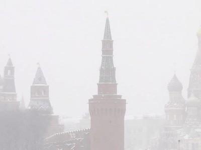 На Москву надвигается оранжевая опасность
