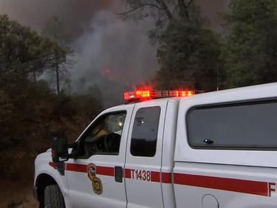 Самолет разбился недалеко от заповедника в Калифорнии