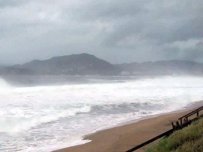 """Ураган """"Патрисия"""" достиг побережья Мексики"""