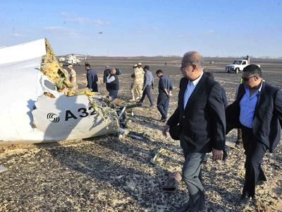 Первую жертву крушения A321 похоронят 5 ноября. Найдены еще останки