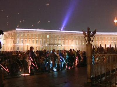 Траур в Петербурге: в небо запустили 224 воздушных шара с именами погибших