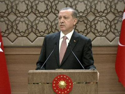Высказывания Эрдогана пытается объяснить его канцелярия