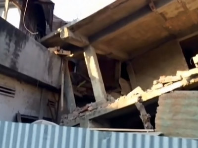 Индийский телеканал показал сильное землетрясение в прямом эфире