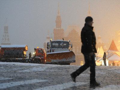 Москву ждут сильный снегопад и потепление
