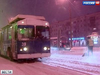 Такого снегопада в Москве не было почти год