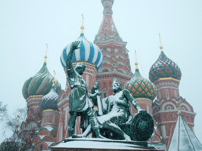 Снегопад в Москве продолжится