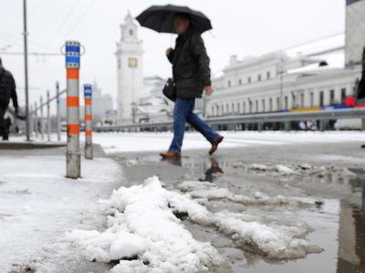 """Из-за ветра с гололедицей в Москве введен """"оранжевый"""" уровень опасности"""