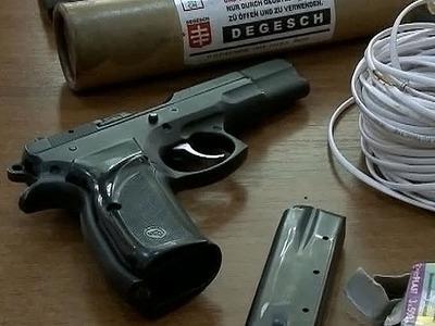 На территории заброшенного предприятия во Владикавказе найден тайник с оружием