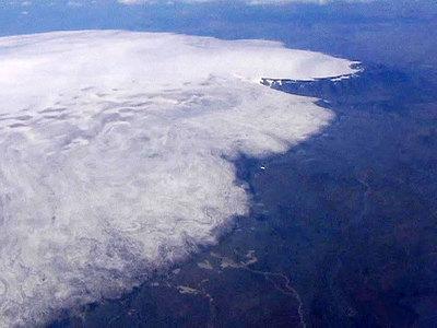 У подножия вулкана Бардарбунга в Исландии произошло землетрясение