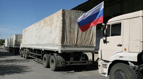 В Донецк и Луганск приехала российская гуманитарная помощь