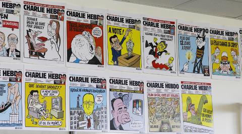 Американцы наградили Charlie Hebdo за храбрость
