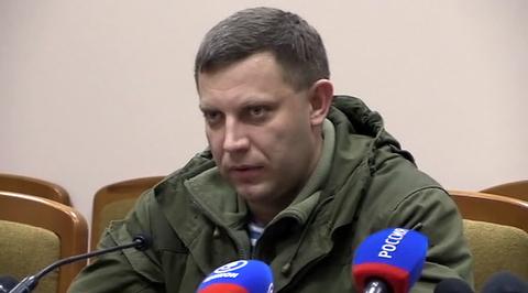 Захарченко: в ДНР под видом врачей присылают шпионов