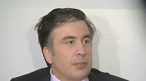 Аваков назвал Саакашвили популистом и плеснул ему в лицо водой, чтобы не ударить
