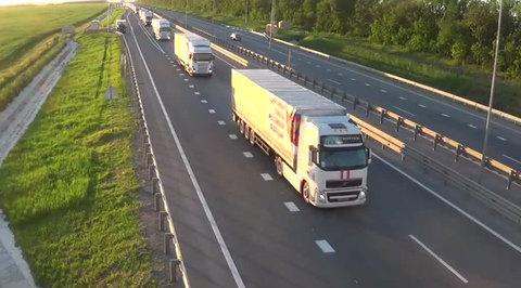 На границу прибыл сороковой гумконвой для Донбасса