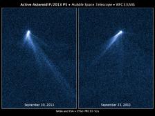 Астероид, получивший кодовое название P/2013 P5, – единственный из известных обладателей шести пылевых хвостов. Обнаружен на снимках