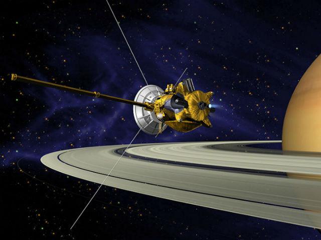 """Самой успешной, по мнению руководства NASA, оказалась миссия """"Кассини"""" (иллюстрация Wikimedia Commons)."""