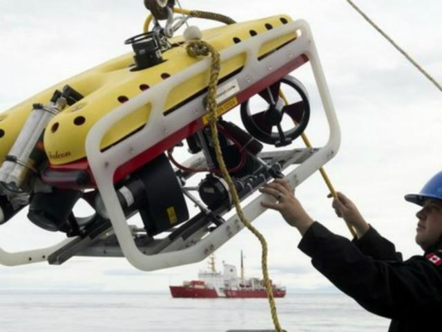 Для обнаружения корабля было использовано специальное подводное оборудование (фото AP).