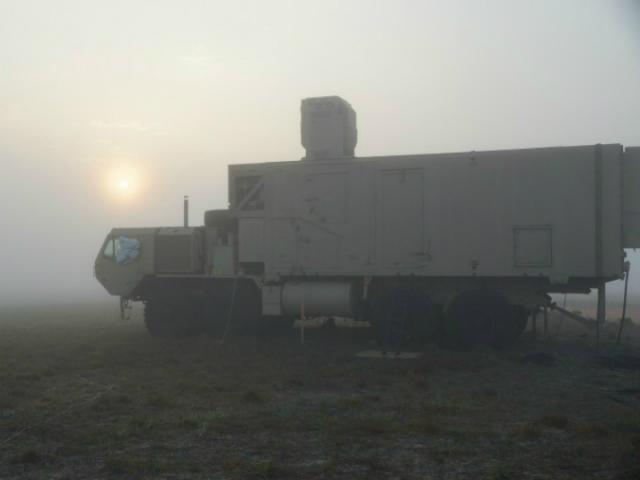 Лазерное оружие HEL MD может работать в любую погоду
