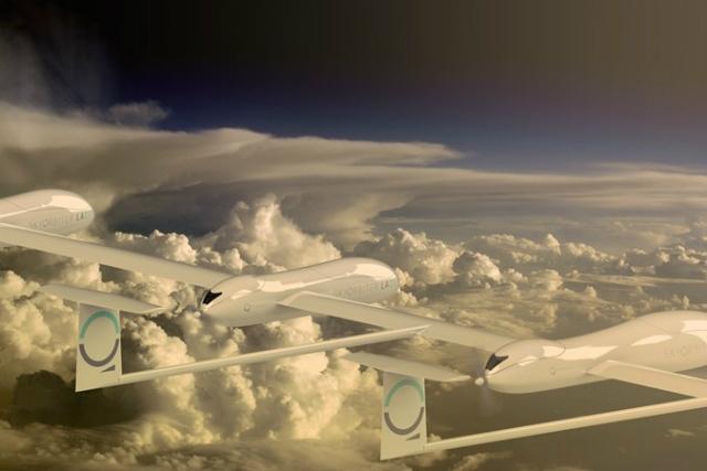 Низковысотные SkyOrbiters Quarkson будут выведены на орбиту на высоте 3500 метров (фото Quarkson).