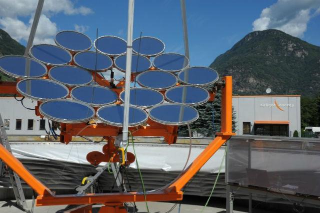 Система HCPVT уже протестирована компанией Airlight Energy (фото Airlight Energy/IBM).