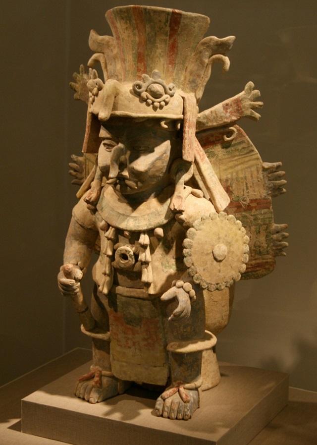 В Храме воды поклонялись Чааку – повелителю молний, воды и дождя (фото Leonard G./Wikimedia Commons).
