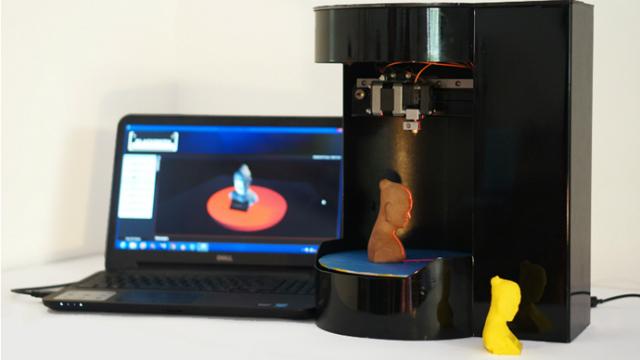 Устройство использует вращающуюся платформу для печати и сканирования (фото Blacksmith Group).