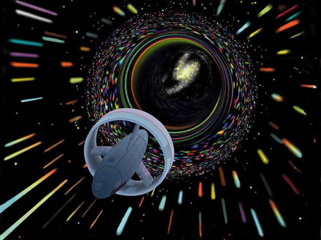 """Если инопланетный релятивистский корабль пролетит по просторам нашей Галактики, земляне смогут увидеть его """"след"""" (иллюстрация Wikimedia Commons)."""