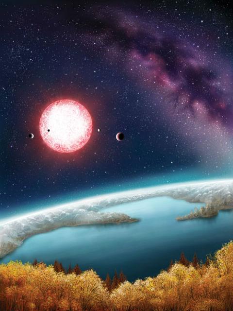 Человечество может переселиться на двойника Земли